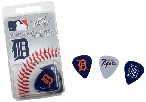 Detroit Tigers Mlb Guitar Pick Pack By Peavey