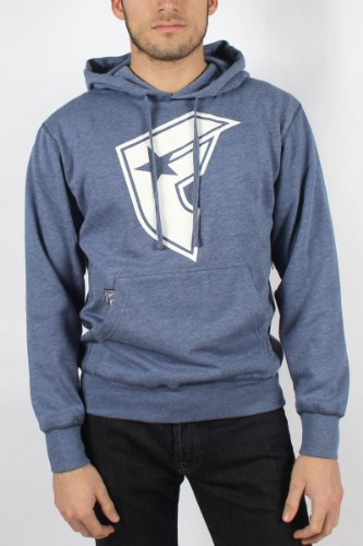 Famous Stars and Straps - Mens Basic Space Hoodie in Heather/White, Size: Medium, Color: Heather/White