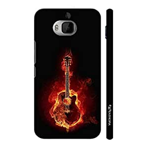 Enthopia Designer Hardshell Case Music Lights Everything on Fire Back Cover for HTC One M9 Plus