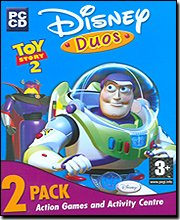 New Disney Interactive Disney Duos Toy Story 2 2 Pack Action Games Three Levels Of Difficulty