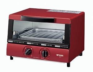 TIGER オーブントースター やきたて レッド  KAJ-A100-R