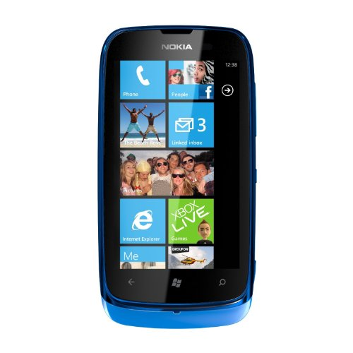 Nokia Lumia 610 Sim Free Mobile Phone - Cyan Black Friday & Cyber Monday 2014