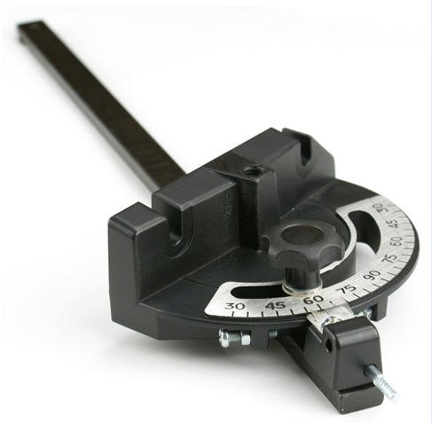 Miter Gauge for Table Saws and Router Tables