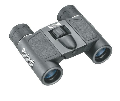 Bushnell Powerview 8X21 Compact Folding Roof Prism Binocular (Black) Color: Black Size: 8X21