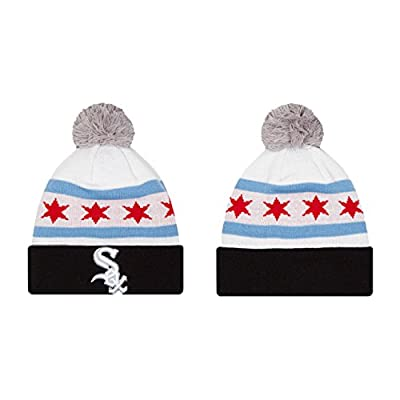 Chicago White Sox Adult City Factor Beanie - Black