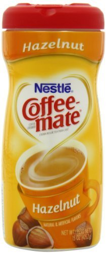 Coffee-Mate Hazelnut Powdered Coffee Creamer, 15-Ounce Packages (Pack Of 6) By Coffee-Mate [Foods]