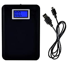 RockPowerDigital Display Power Bank With 10400mAh