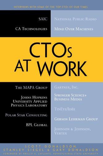 Stanley Siegel, Gary Donaldson Scott Donaldson - CTOs at Work
