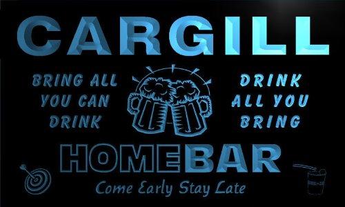 q07005-b-cargill-family-name-home-bar-beer-mug-cheers-neon-light-sign