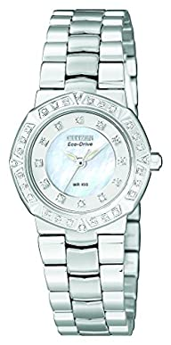 Citizen Women's EP5830-56D Eco-Drive Serano Sport Diamond Accented Watch