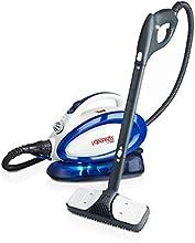 Polti VAPORETTO GO - Generador de vapor para limpieza (Presión max 3,5 bar, vapor 90g/min, capacidad 0,75l) color azul y blanco