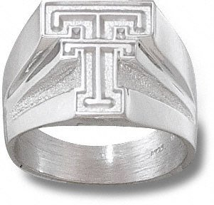 Texas Tech Red Raiders NCAA Sterling Silver Ring Sz 11