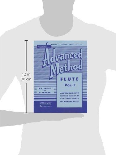 Rubank Advanced Method: Flute, Vol. I: 1 (Rubank Educational Library No. 95)