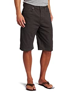 prAna Men's Bronson Short (Charcoal, 28)