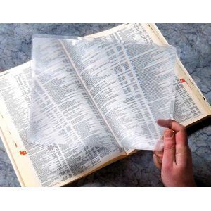 3X Full Page Magnifier Fresnel Lens from JupiterWholesale