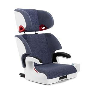 Clek Oobr Booster Car Seat, Blue Moon