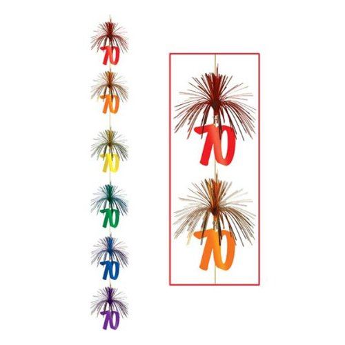 70 Firework Stringer Party Accessory (1 count) (1/Pkg)