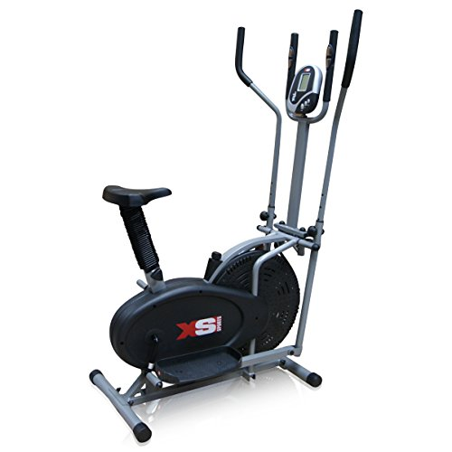 Pro XS Sports 2-in1 Elliptical Cross Trainer Exercise Bike - review