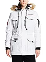 GEOGRAPHICAL NORWAY Abrigo Parka Lady (Blanco Roto)