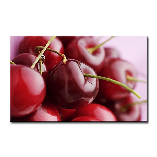 Red Wall Art Painting Fresh Colour Red Cherry Pictures Prints On Canvas Food The Picture Decor Oil For Home Modern Decoration Print