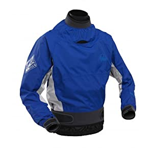 2013 Palm Velocity White Water Dry Cag in Blue/Mist AW471 Sizes- - Large