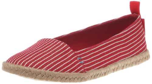 Rocket Dog Women's Cutie Red Conductor Stripe Closed Toe CUTIECS 3 UK