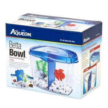 Aqueon 01206 Betta Bowl Starter Kit