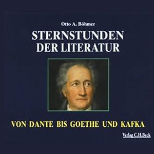 Sternstunden der Literatur Hörbuch