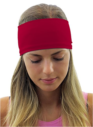 ice cream Red Fitness Headband: Deliciously Crafted, Ultra Comfy & Machine-Washable (Ice Cream Athletics compare prices)