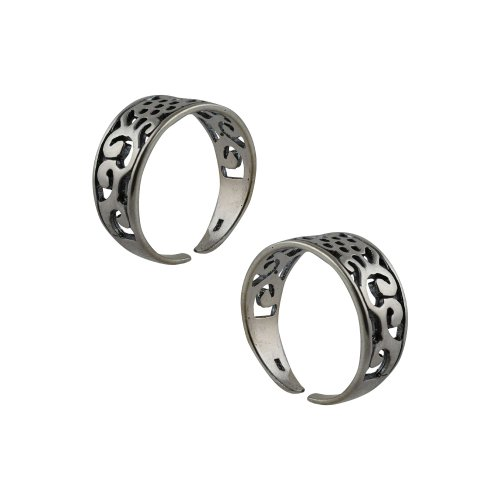 Adjustable Toe Rings for Teen Girls Sterling Silver Jewelry Oriental