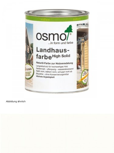 osmo landhausfarbe wei 750 ml preisvergleich shops tests 4006850102273. Black Bedroom Furniture Sets. Home Design Ideas