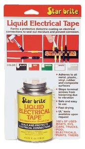Star Brite 4-Ounce Liquid Electrical Tape, Clear