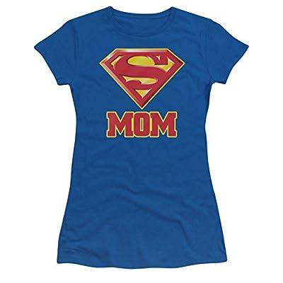Superman: Super Mom Ladies Junior T-Shirt