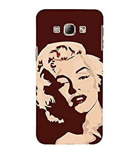 Famous Hollywood Personality 3D Hard Polycarbonate Designer Back Case Cover for Samsung Galaxy A8 (2015 Old Model) :: Samsung Galaxy A8 Duos :: Samsung Galaxy A8 A800F A800Y