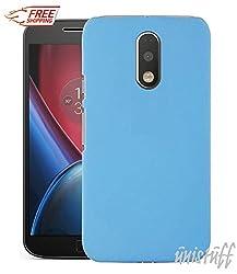 "Unistuffâ""¢ Matte Finish Hard Shell Ultra Thin Bumper Back Case Cover for Motorola Moto G 4th Gen / Moto G4 / Moto G Plus, 4th Gen / Moto G4 Plus (Sky Blue)"