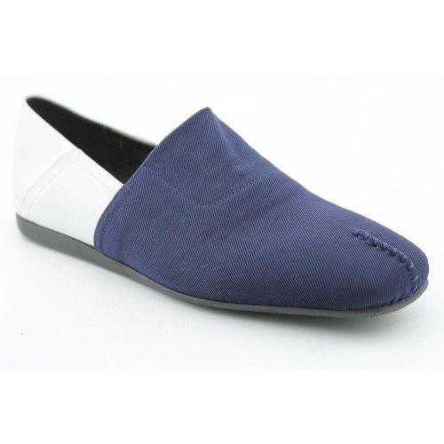 Donald J Pliner Audra Womens SZ 9.5 Blue Navy/White New Textile Flats Shoes