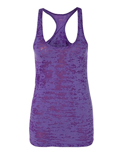 Koloa Surf Co.(tm) - Ladies Racerback Burnout Tank Top in-L