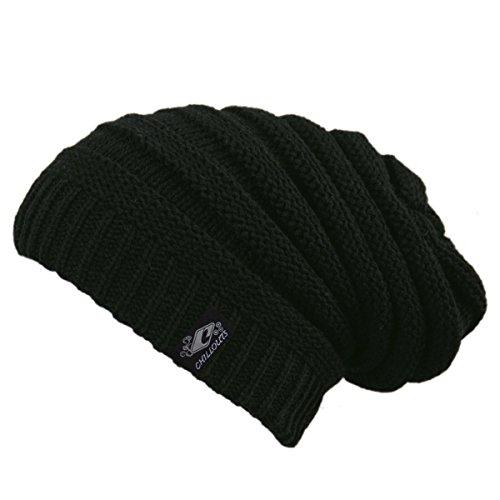 CHILLOUTS, Berretto Adulti Mütze Brian Hat, Nero (Black), Taglia unica