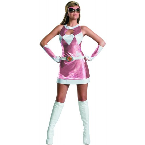 Pink Power Ranger Costume - Medium - Dress Size 8-10