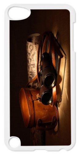 Rikki Knighttm Vintage Old Binoculars With Bag Design Ipod Touch Black 5Th Generation Hard Shell Case