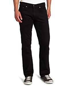 Levi's Men's 514 Straight Jean, Black, 32Wx30L