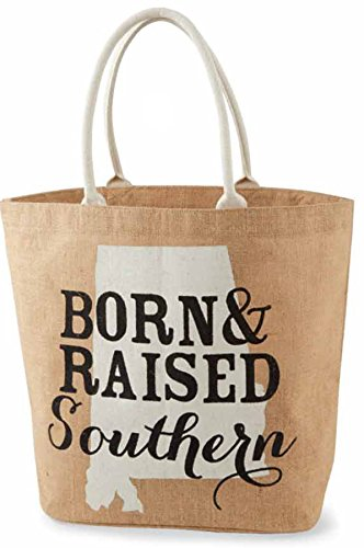 Mud Pie Southern State Tote (Alabama)