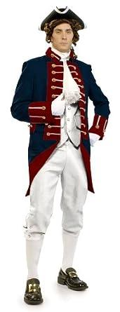 Amazon.com: Unisex Adult American Revolution Soldier Revolutionary War