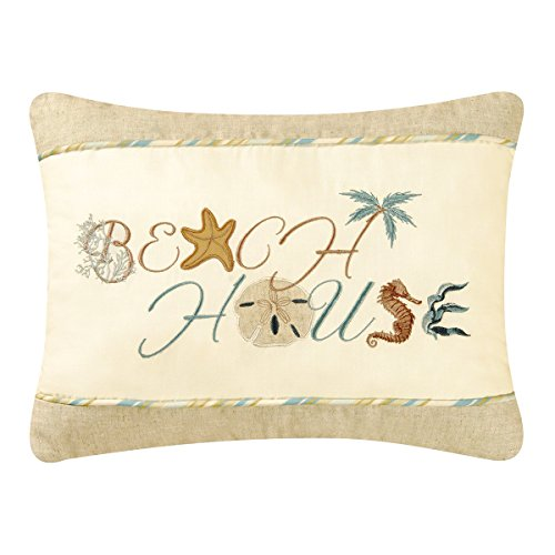 C and F Enterprises Beach House Throw Pillow (Beach House Pillows compare prices)