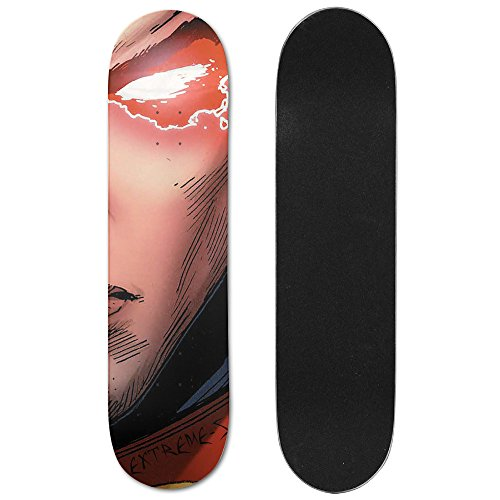 [Extreme-S Skateboard Deck -Full On Deck,Wood - SuperEye] (Original Ultraman Costume)