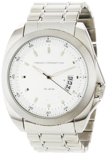 French Connection Men's FC1034S Stainless Steel Round Case Watch