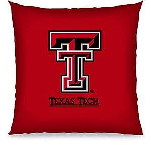 Biederlack NCAA Texas Tech Toss Pillow