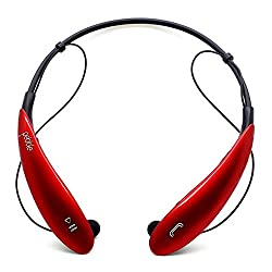 Pebble Neck Band Sleek Stereo Wireless bluetooth Headphones