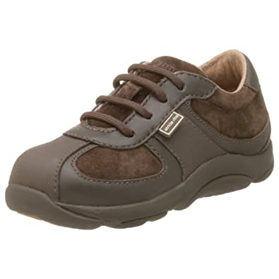 Stride Rite Toddler Chase Stage 3 Lace-Up,Dark Brown,5 XW US Toddler