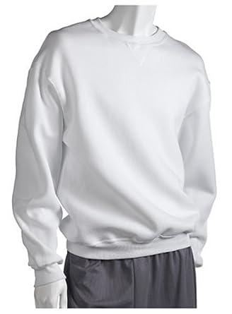 Russell Athletic Men's Dri-Power Crewneck Fleece Sweatshirt,White,Small